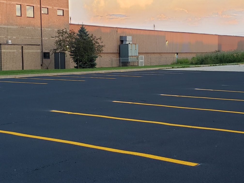 Parking Lot Seal and Paint Job